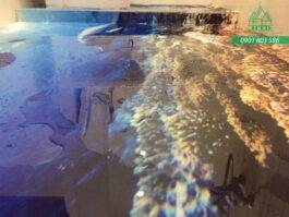 Dự án sơn sàn 3D phòng tắm ở Thủ Đức