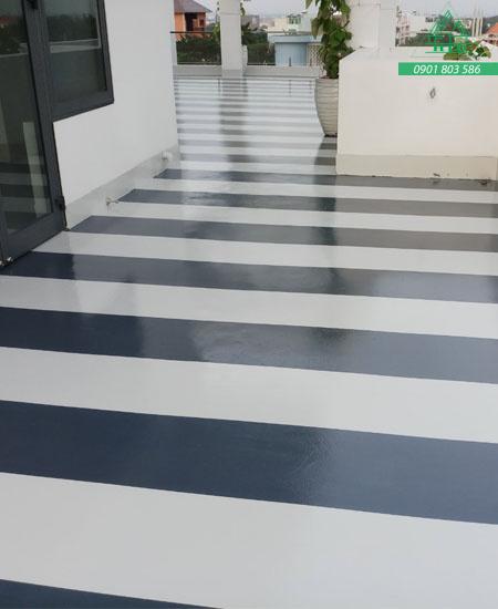 thi công sơn sàn công nghiệp epoxy