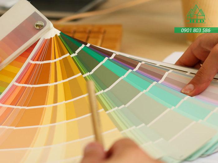 chọn màu sơn nhà đẹp