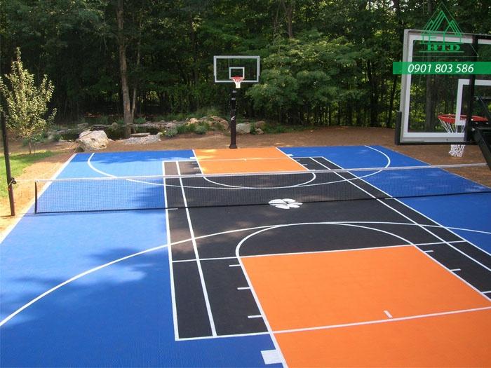 sơn sân bóng rổ