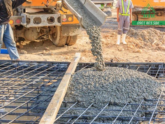 một khối bê tông được bao nhiêu mét vuông